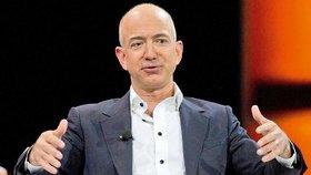 Jeffrey Preston Bezos, ředitel a spolumajitel společnosti Amazon