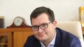 Ministr Jan Chvojka při rozhovoru pro Blesk.cz