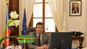 Kancelář předsedy sněmovny Jana Hamáčka
