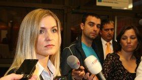 Někdejší kandidátka na místopředsedkyni ČSSD Alena Borůvková