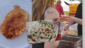 Na Černém Mostě se konal Blaf Food Festival. Návštěvníci ochutnali jídlo, které v restauraci nebo na festivalu jídla normálně nedostanete.