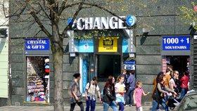 Vláda schválila novelu zákona o směnárenské činnosti.