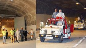 Indický premiér otevřel tunel do Kašmíru, separatistům navzdory