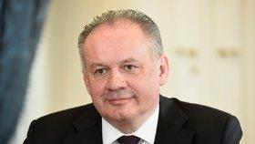 Prezident Slovenska Andrej Kiska