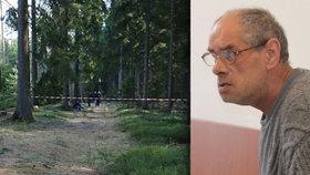 Senior (61) zlikvidoval soka v lásce: V lese u Rotavy ho ubodal k smrti.