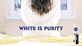 Kontroverzní reklama značky Nivea