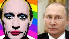 Humorné vyobrazení politiků je v Rusku zakázané.