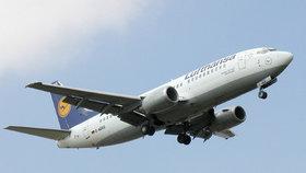 Letadlo z Hurghady mělo při přistání problém.