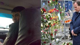 Zadržený Uzbek se prý útokem chtěl pomstít za ISIS.