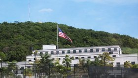 Budova americké ambasády v nikaragujské metropoli Managua