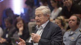 George Soros je pro maďarskou vládu trnem v oku.