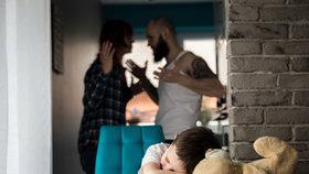 Děti jsou neviditelné oběti domácího násilí