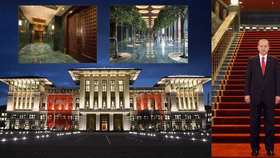 Erdoganův palác stál Turecko 45 miliard.