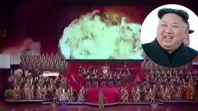 KLDR předvedla video se simulací útoku na USA.
