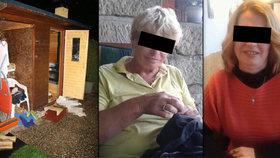 Policie obvinila ze smrti matky s dcerou v sauně jednu osobu.