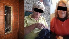Smrt matky s dcerou v sauně