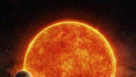 Planeta LHS 1140b obíhá kolem červeného trpaslíka v souhvězdí Velryby.