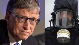 Bill Gates varoval svět před hrozbou bioterorismu.