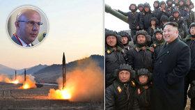 Severní Korea hrozí jaderným útokem. Jak velká je to hrozba, řeší pro Blesk.cz bezpečnostní analytik Miloš Balabán.