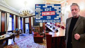 Když promluví zdi: Senátor František Bublan má kancelář s pohnutou historií. Na jeho místě seděl v době 2. sv. v. protektorátní ministr školství Emanuel Moravec, kterého Češi nenáviděli jako kolaboranta.
