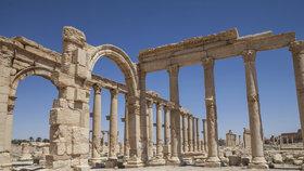Zničená Palmýra