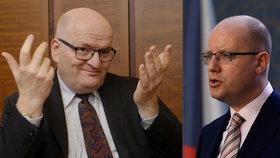 Spekulacemi o odvolání Hermana výměnou za Zemanův souhlas s odvoláním Babiše odvádí Babiš pozornost od podezření kolem svých firem, řekl Sobotka.