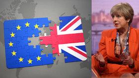 Mayová přiznala, že vyjednávání o brexitu bude těžké.