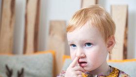 Šťourání se v nose je tak kontroverzní praktika, že o ní neexistuje ani dostatek vědeckých studií (ilustrační foto)
