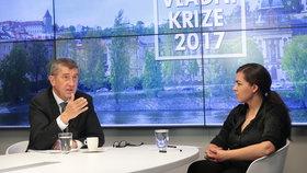 Andrej Babiš při rozhovoru pro Blesk Zprávy