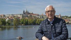 Prezidentský kandidát Jiří Drahoš, bývalý šéf Akademie věd