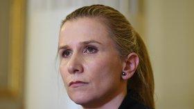 Ministryně školství Kateřina Valachová končí ve funkci.