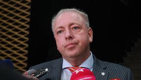Ministr vnitra Milan Chovanec (ČSSD) po jednání u prezidenta Miloše Zemana