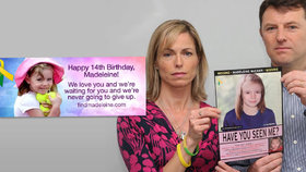 Rodiče vzkazují Maddie ke čtrnáctým narozeninám: Čekáme na tebe.