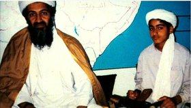 Hamza bin Ládin vyzýval po smrti svého otce k pomstě za jeho vraždu.
