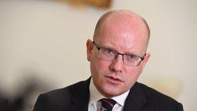 Premiér Bohuslav Sobotka (16. 5. 2017)