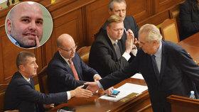 Vládní krize očima politologa: Ztrácí na ní body Zeman, mohl by tratit však i Babiš.