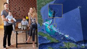 Na palubě byla čtyřicetiletá Jennifer Bluminová a její dva synové ve věku dva a čtyři roky