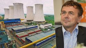 Pavel Tykač nemůže koupit elektrárnu Počerady.