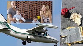 Letadlo s královnou večírků se ztratilo u Baham: Přišel jsem o nejmilovanější, říká otec dvou dětí