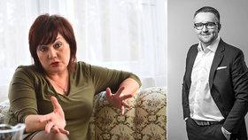 Helena Schillerová, náměstkyně ministra financí a její zeť David Rusňák - Zakladatel investiční skupiny DRFG