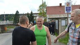 Jiří Kajínek se dočkal svobody.