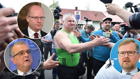 Jiří Kajinek je na svobodě. Co na to politici? Sobotka, Kalousek či Fiala nešli pro kritiku daleko.