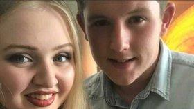"""""""Chtěli spolu být navždy a teď jsou"""". Terorista zavraždil i Chloe Rutherfordovou a jejího přítele Liama Curryho."""