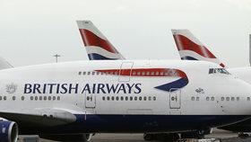 Aerolinky British Airways se v sobotu potýkaly s výpadkem svých počítačových systémů.