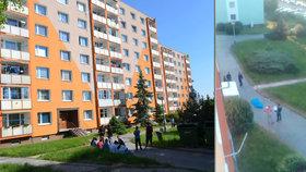 Zastřelil muže, který v Chomutově najížděl do lidí! Policie ho obvinila z vraždy.