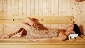 Sauna (Ilustrační foto)