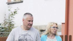 Jiří Kajínek s přítelkyní Magdou