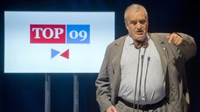 Start kampaně TOP 09: Karel Schwarzenberg
