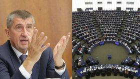 Andreje Babiše přetřásají europoslanci přímo na plénu.