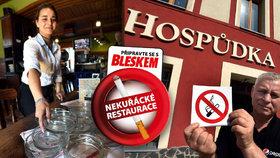 Zákaz kouření v restauracích, který platí v Česku od konce května, přidělal práci zejména strážníkům, kteří musejí častěji řešit stížnosti lidí na hluk v ulicích.